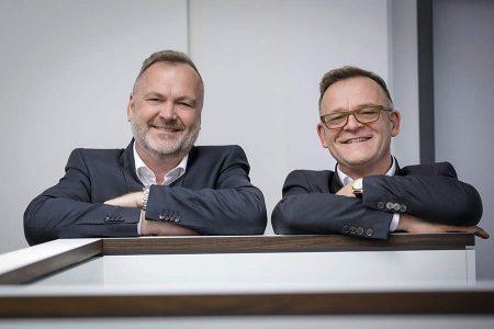 Die Steuerberater Jürgen Kraft und Stefan Werz