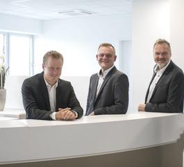 Steuerberater Stefan Werz, Jürgen Kraft und Ingo Vogt